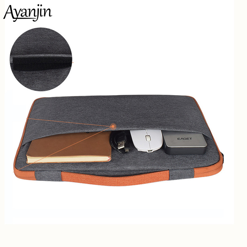 Nylon Laptop Sleeve Notebook Bag Pouch Case For Macbook Air 11 13 12 15 Pro 15.4 15.6 Retina Unisex Liner Sleeve For Xiaomi Dell