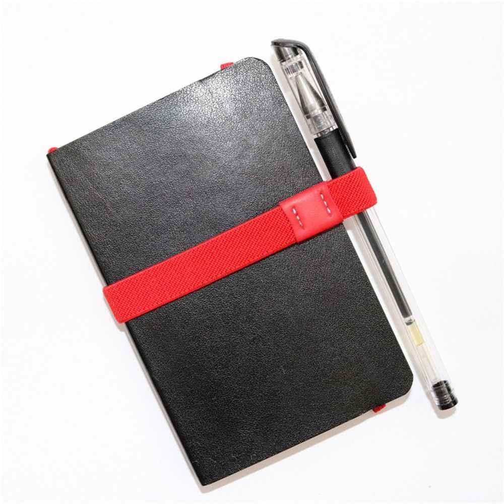 1 adet yenilik A5/A6 not defteri kalemlik elastik bant çekirdek halat bandaj Kawaii kırtasiye sevimli masa aksesuarları ofis organizatör