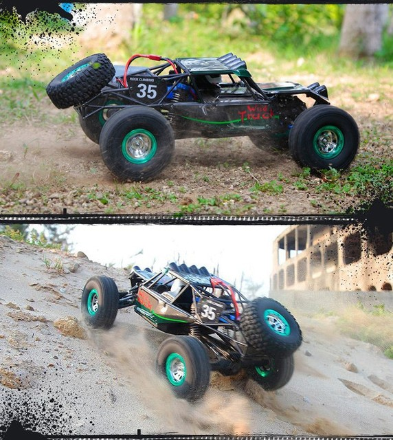 WLtoys Big RC Car Original K949 1/10 2.4Ghz RC Remote Control Truck Dirt Drift 4WD
