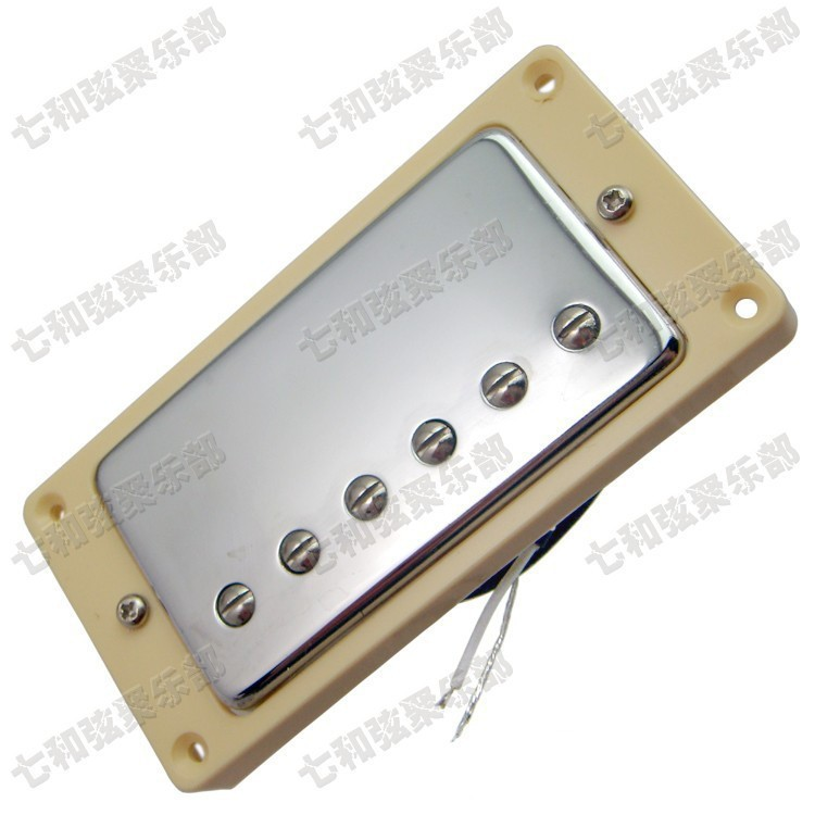 A5 Silver double coil Electric guitar Pickup Guitar parts musical instruments accessories humbucking guitar pickups guitar accessories the electric guitar lp pickup huang