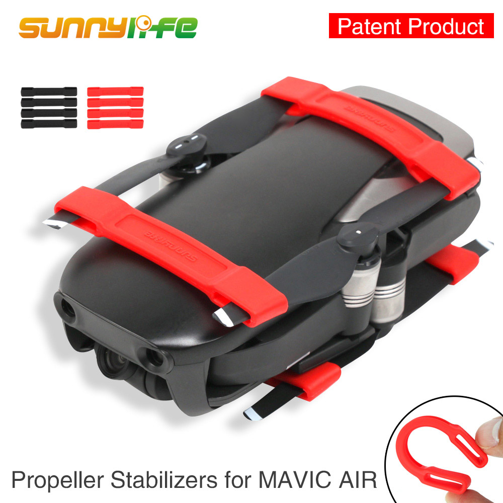 DJI Mavic Air propeller holder Silicone Soft Clip Fixed Protection Guard fixator for Mavic Air AccessoriesDJI Mavic Air propeller holder Silicone Soft Clip Fixed Protection Guard fixator for Mavic Air Accessories