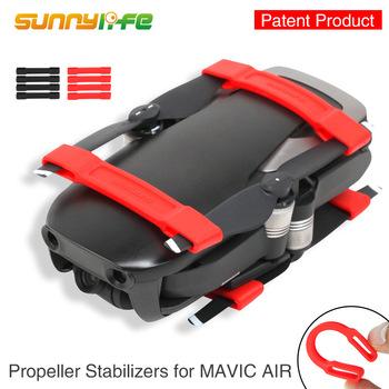 Mavic Air uchwyt śmigła silikonowy miękki klips naprawiono osłona ochronna fixator do akcesoriów Mavic Air tanie i dobre opinie Caden DJI Mavic Air Drone pudełka