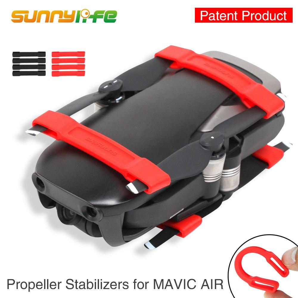 Soporte de hélice de aire DJI Mavic Clip suave de silicona fijador de protección fija para accesorios de aire Mavic