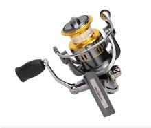New TSURINOYA FS2000 Stainless Steel Bearing Deep Line Cup 240g Spinning Reel Carp Sea Fishing Reels 5.2:1/9+1BB Carretilha