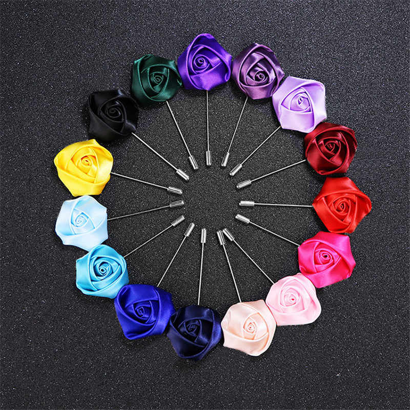 Pernikahan Boutonniere Pengantin Pria Bros Kancing Pengiring Pria Pria Terbaik Pin Tangan Aksesoris Bunga Pernikahan Prom Perapi Dekorasi XH06