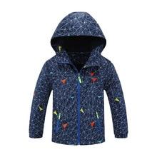 New Fashion Spring Autumn Children Outerwear Jackets Sport Kids Coats Double-deck Waterproof Windproof Boys Brand