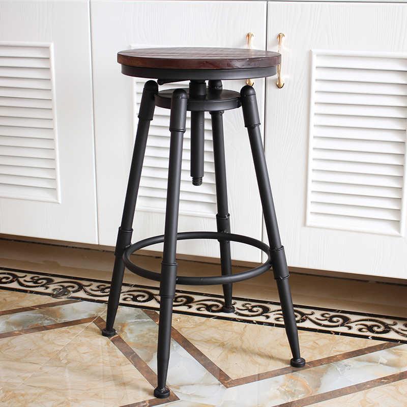 Барный стул Sgabello Bancos современный табурет Comptoir Industriel Ikayaa Ретро табурет современный стул Silla барный стул