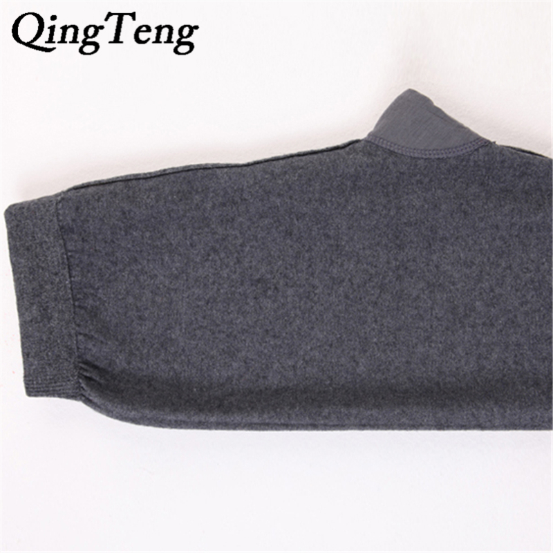 310b4d21b29 QingTeng Black Tights Thermal Underwear Merino Wool Mens Long Johns  Underwear Winter Pants Men For Work Leggings For Men-in Long Johns from  Underwear ...