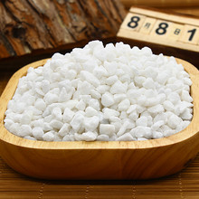 1pack white Jade river sand stones 3-6cm miniatures fairy garden gnome moss terrarium decor crafts bonsai home decor for DIY(China)