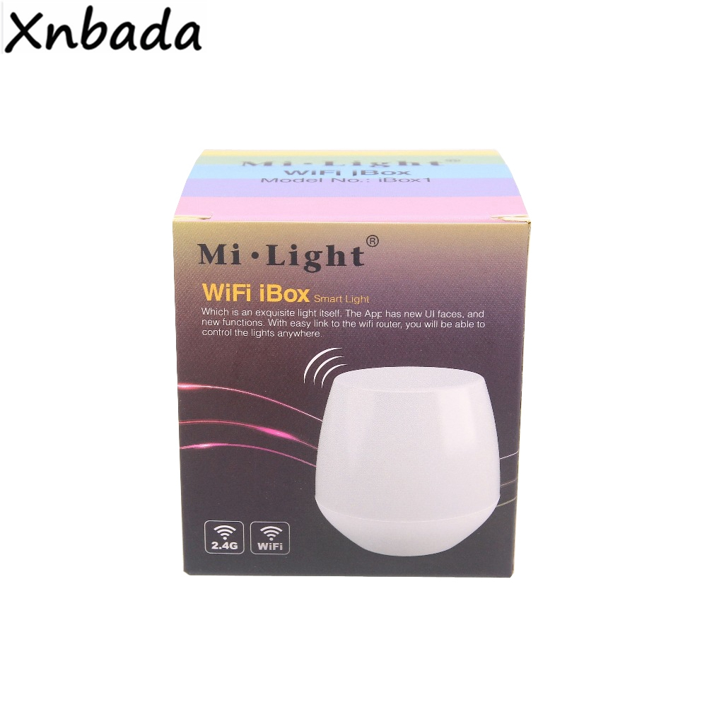 Milight 2.4G WIFI IBox Led Controller (Night Light) Wireless Controlled By APP IOS Android Suitible For All 2.4GHz Series DC5V