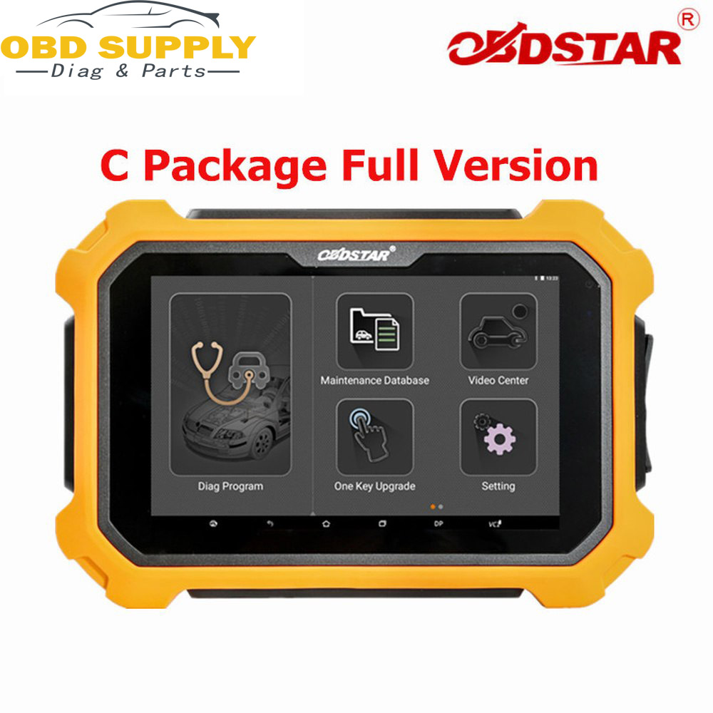 OBD2 Diagnostic Tool BDSTAR X300 DP Plus X300 C Package Full Version 8inch Tablet Support ECU Programming Smart Key For Toyota
