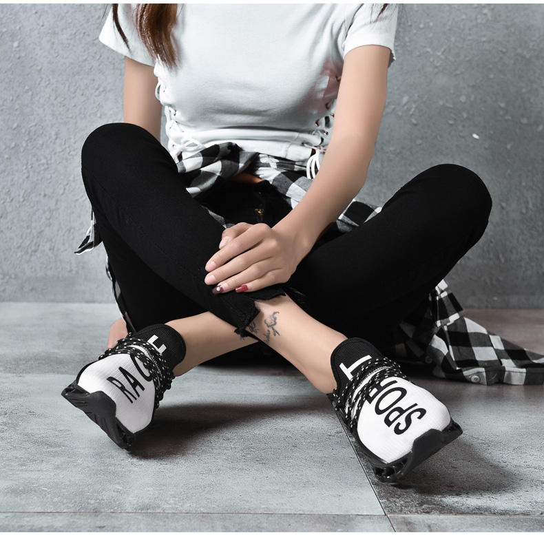 18 New Breathable QIYHONG Men Sneakers Unisex Couple Shoes Basket Femme Hard-Wearing Tenis Feminino Male Footwear Plus Size 6