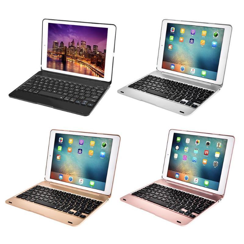 Flip Bluetooth Keyboard Office Keypad 78Keys Cover w/Auto Dormancy Tablet PC Parts for New iPad PRO9.7 Air2/1