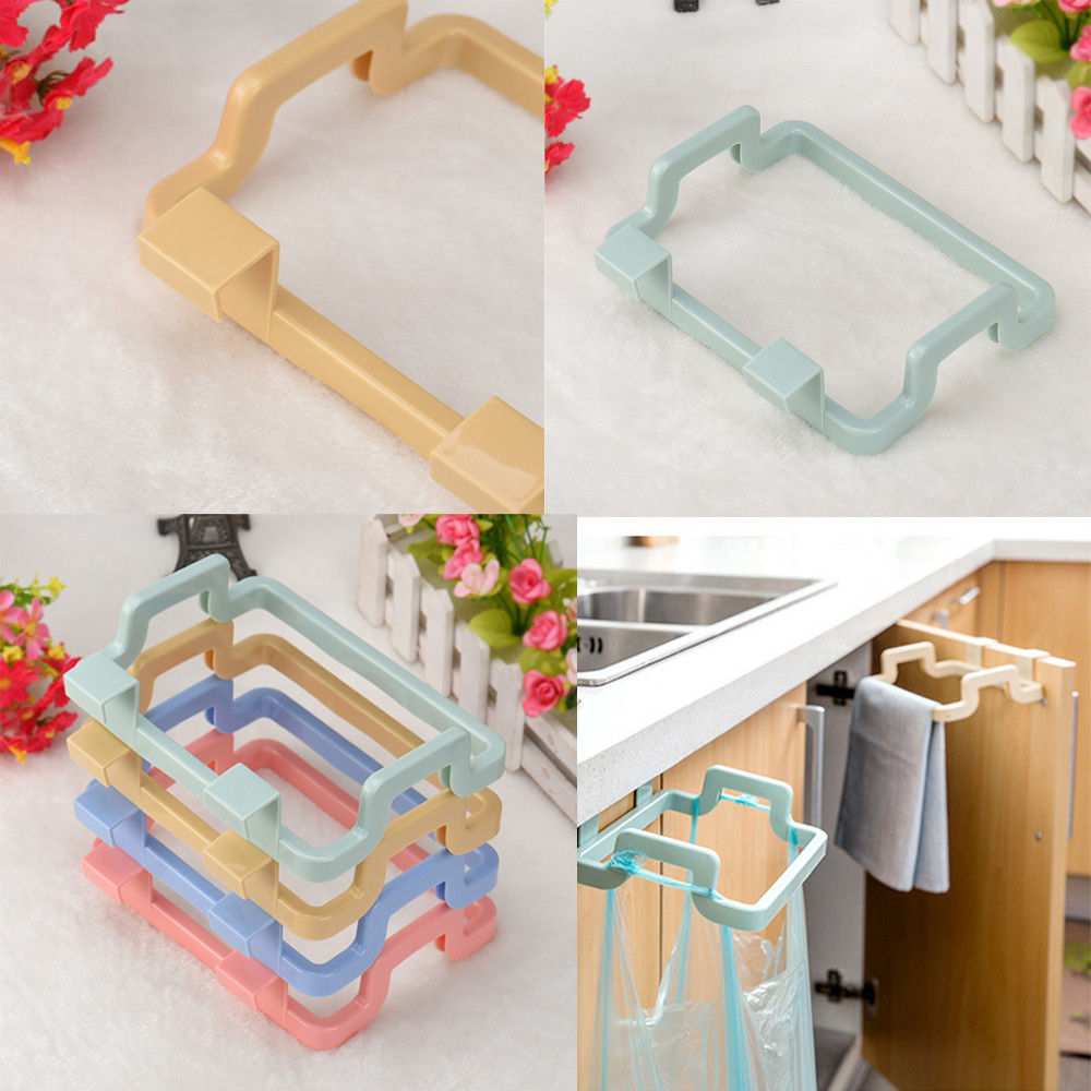 Portable Kitchen Trash Bag Holder Incognito Cabinets Cloth Rack Towel Rack