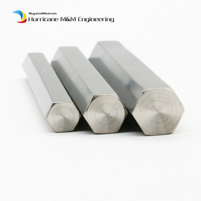 500mm Titanium Hexagonal bar TA2 Grade 2 side 8mm 10 11 12 14 15 16 17 18 19 20 24mm Industry Experiment Research DIY Ti bar image