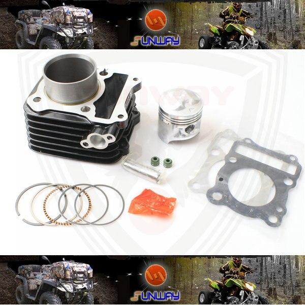 YIMATZU Kit de cylindre de moto 57MM pour moteur SUZUKI GS125 GN125
