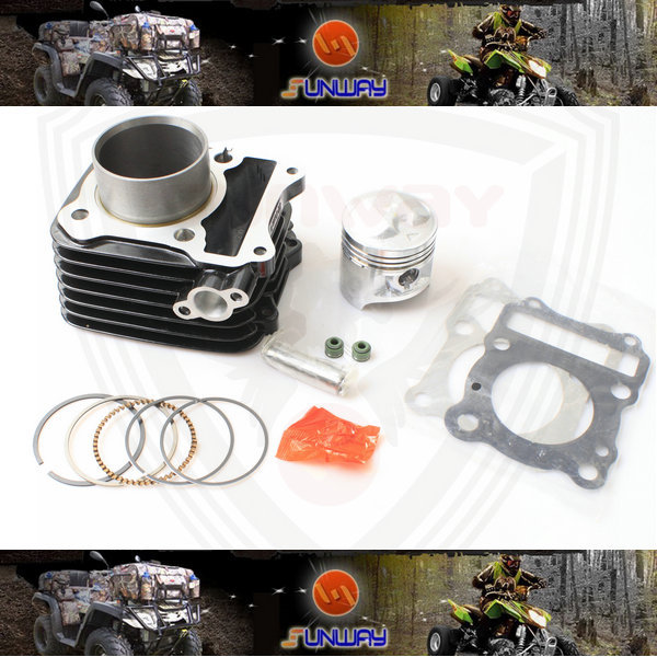 YIMATZU Motorcycle Cylinder 57MM Kit for SUZUKI GS125 GN125 Engine image