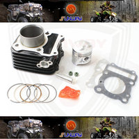 2014 Motorcycle Cylinder 57MM Kit For GS125 GN125 Engine Free Shipping