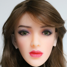 2017 Newest Top Quality Head 23# Big Doll's Head Natural Skin Sex Doll Head for Silicone Sex Doll Suit For More Than 140cm Doll
