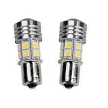 4PCS 10W White R5 + 12-SMD 1156 BA15S 1141 Car Tail Backup Reverse LED Light