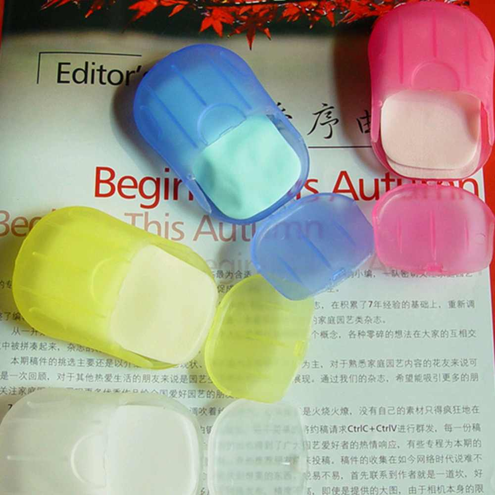 Perfect Newest Soap Paper Leaves with Mini Case Products Grateful Available Best Hot Sale