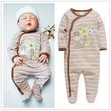 Бренд, детские пижамы mayo ropa bebe, одежда для малышей, пижамы для сна, хлопковые комбинезоны для новорожденных 0, 3, 6, 9, 12 месяцев