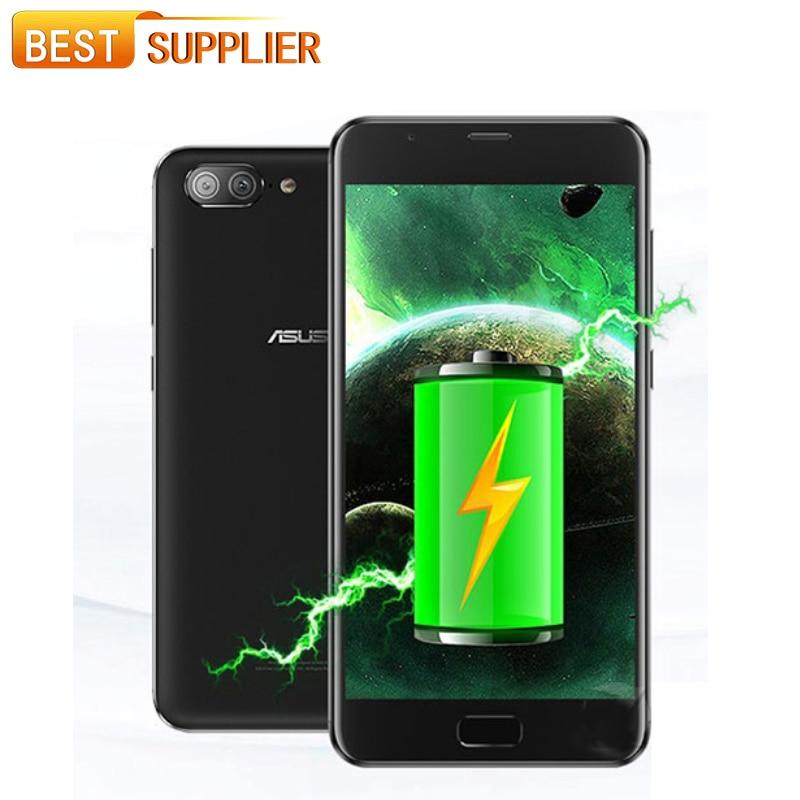bilder für 5000 mAh Große Akku ASUS Zenfone 4 Max Plus ZC550TL X015D Smartphone 3 GB RAM 32 GB ROM 5,5 ''MT6750 Qcta Core 3 Kameras Android 7,0