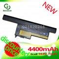 Golooloo 4400 mah batería del ordenador portátil para ibm thinkpad x60 x60 x61 x61 serie 40y6999 40y6999 40y7001 40y7003 42t4505 asm 92p1170