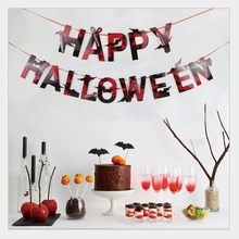 1pc Halloween banner festival party pendant decoration home accessories multi style