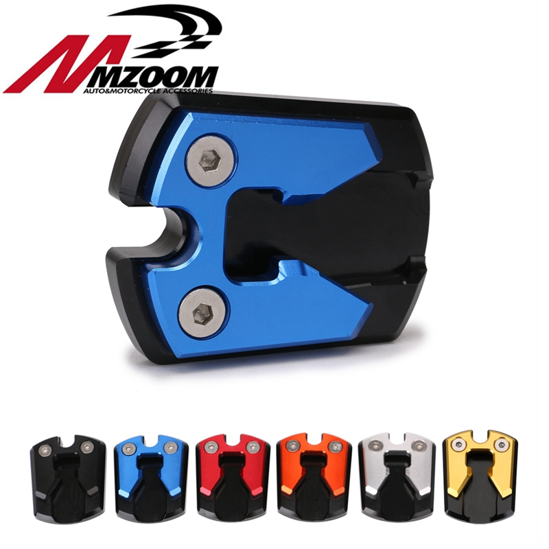 Motorcycle Flat Foot Side Stand Extension Pad Plate Fit For <font><b>YAMAHA</b></font> <font><b>NMAX155</b></font> NMAX image