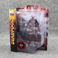 Hot 20cn Deadpool the special Scene PVC figure toy Great gift for BOY