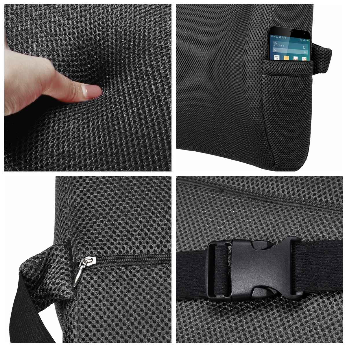 6 Color Lumbar Pillows Made Of Soft Foam For Car Seat To Support And Relieve Back Pain 13