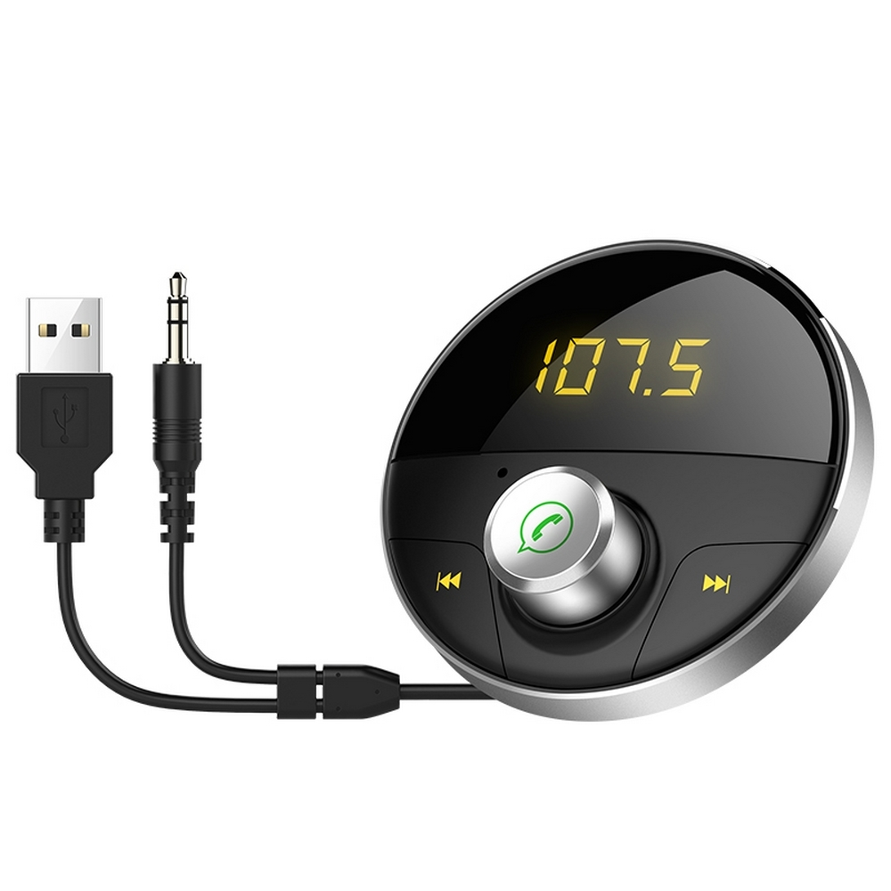 Auto Modulator Bluetooth MP3 USB FM Modulator Center Konsole Auto Mp3 Bluetooth-Player AUX FM Transmitter Auto MP3 7 #