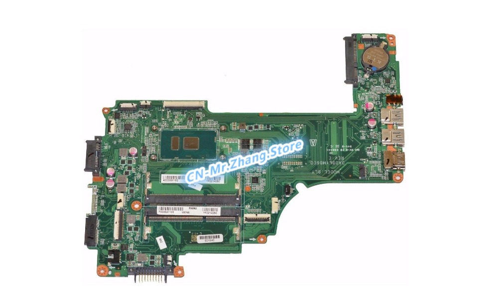 KEFU FOR Toshiba Satellite P55T Laptop Motherboard W/ I7-6500U CPU A000396150 DA0BLYMB6E0 DDR3KEFU FOR Toshiba Satellite P55T Laptop Motherboard W/ I7-6500U CPU A000396150 DA0BLYMB6E0 DDR3