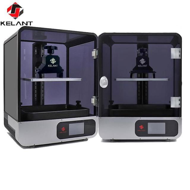 """Kelant S400S LCD DLP طابعات ثلاثية الأبعاد 8.9 """"2K طابعة ليزر ثلاثية الأبعاد UV الراتنج SLA 192*120*200 مللي متر ثلاثية الأبعاد طباعة أقنعة primpresora لتقوم بها بنفسك عدة"""