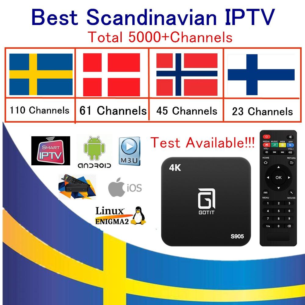 Gotit S905 android iptv box PRO World IPTV Subscription 5000+Sweden Norway Denmark Israel Dutch UK France Spain Arabic USA m3u twip gotit 53