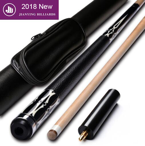 New Arrival Pool Cue 1/2 Pool Cues Stick with Case with Extension 12.75mm Tips Stick Billiard Cues Pool Stick Made In China