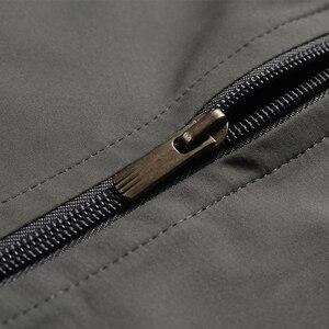 Image 5 - YIHUAHOO ブランドトラックスーツ男性ツーピース服セットカジュアルジャケット + パンツ 2 本トラックスーツスポーツウェア Sweatsuits 男 LB1601
