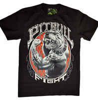 3D T-SHIRT PITBULL BODYFIGHT MIT ECHTEM PIERCING M L XL 2XL 3XL GLOWINGCool Casual stolz t hemd männer Unisex Mode t-shirt freies