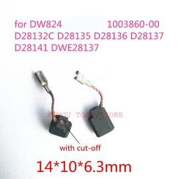 Углеродные щетки N035664 1003860-00 заменить для DeWALT 125 DW824 D28132C D28135 D28136 D28137 D28141 DWE28137