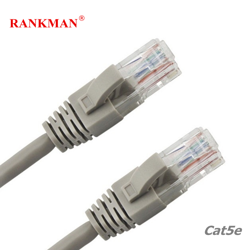 Rankman Lan Cable UTP RJ45 Cat5e Network Cable Ethernet Patch Cord for Router PC 1/2/3/5m