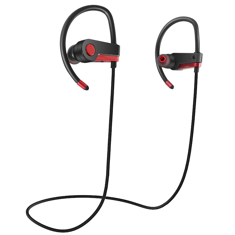 SOONHUA C6 Bluetooth Sport Headphone Sweatproof Wireless Headset Noise Reduction Bass Stereo Earphone Handsfree For Mobile Phone