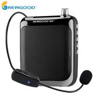 NEWGOOD Speaker Voice Amplifier Portable Megaphone Voice Amplifier Booster Megaphone With Bluetooth 4.1 For Teachers