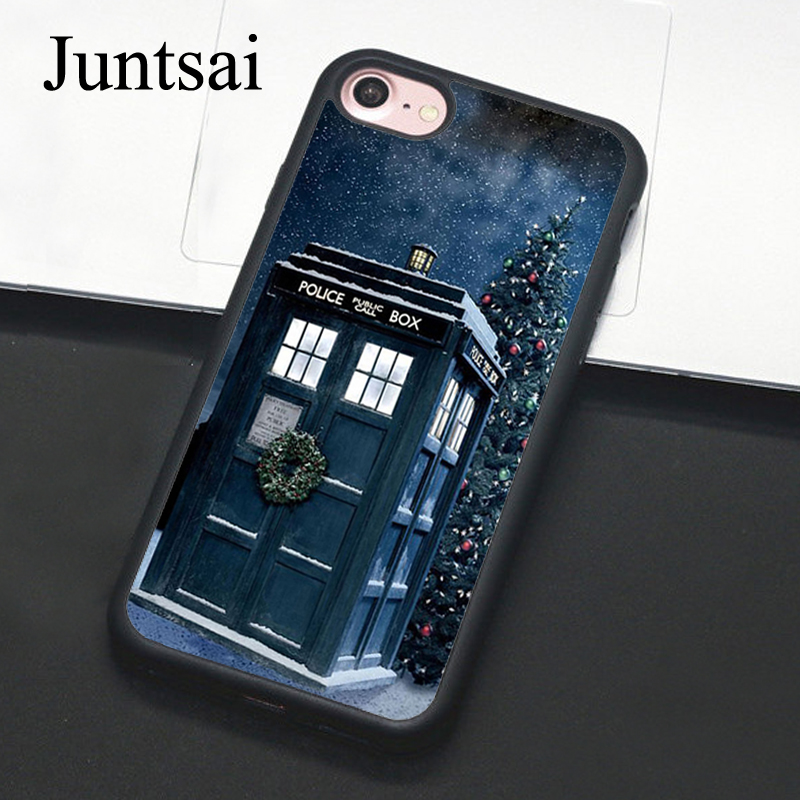Christmas Tardis iphone case