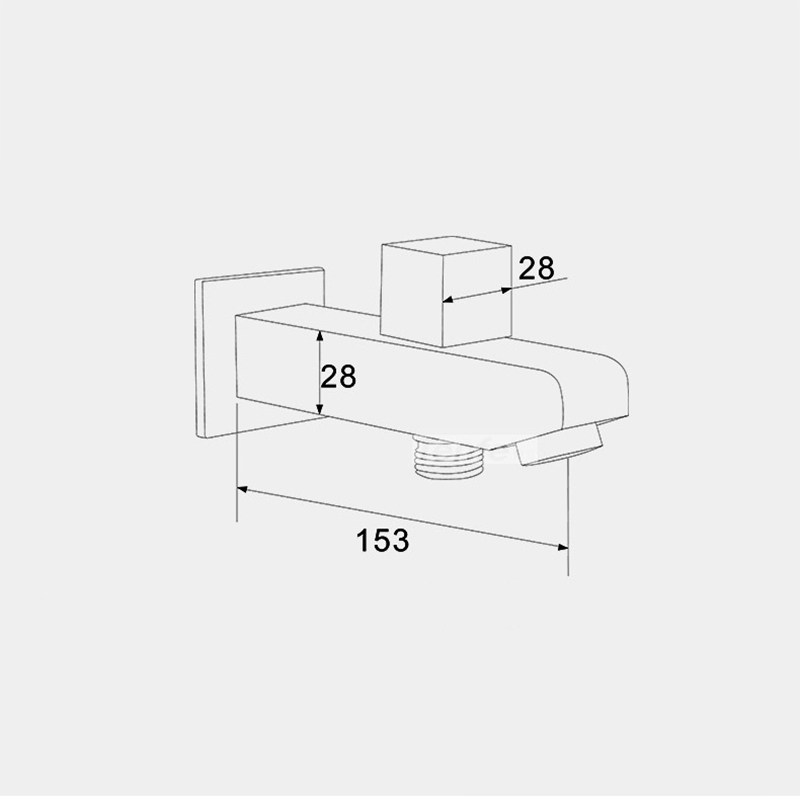 Wall Mounted Brass Free Shipping Bath & Shower Concealed Install Tub ...