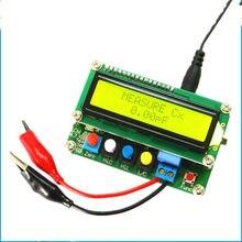 LC100 A đầy đủ chức năng loại cảm điện dung meter, LC meter