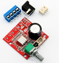 DIY PAM8610 Digital HiFi Power Amplifier Board 15W+15W Small Power Mini Audio Amp Kit DC12V New Listing