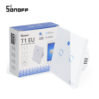 Sonoff T1 RF EU Wifi Switch Smart Wall Switch Touch Light Switch 1 Gang 2 Gang