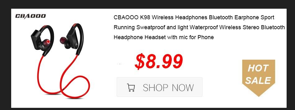 k98 sweatproof waterproof sport wireless bluetooth earphone headphone