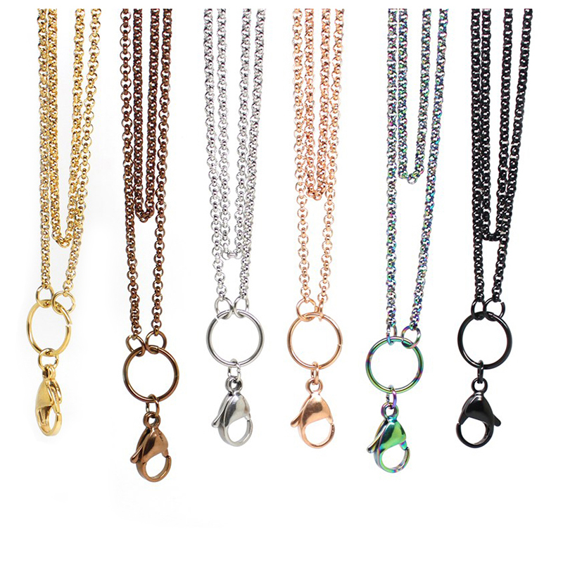 Panpan-32-inches-Stainless-steel-rolo-chain-floating-locket-chains-necklace-chain